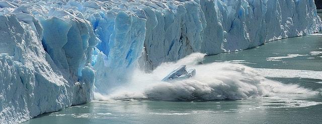 ice caps melting