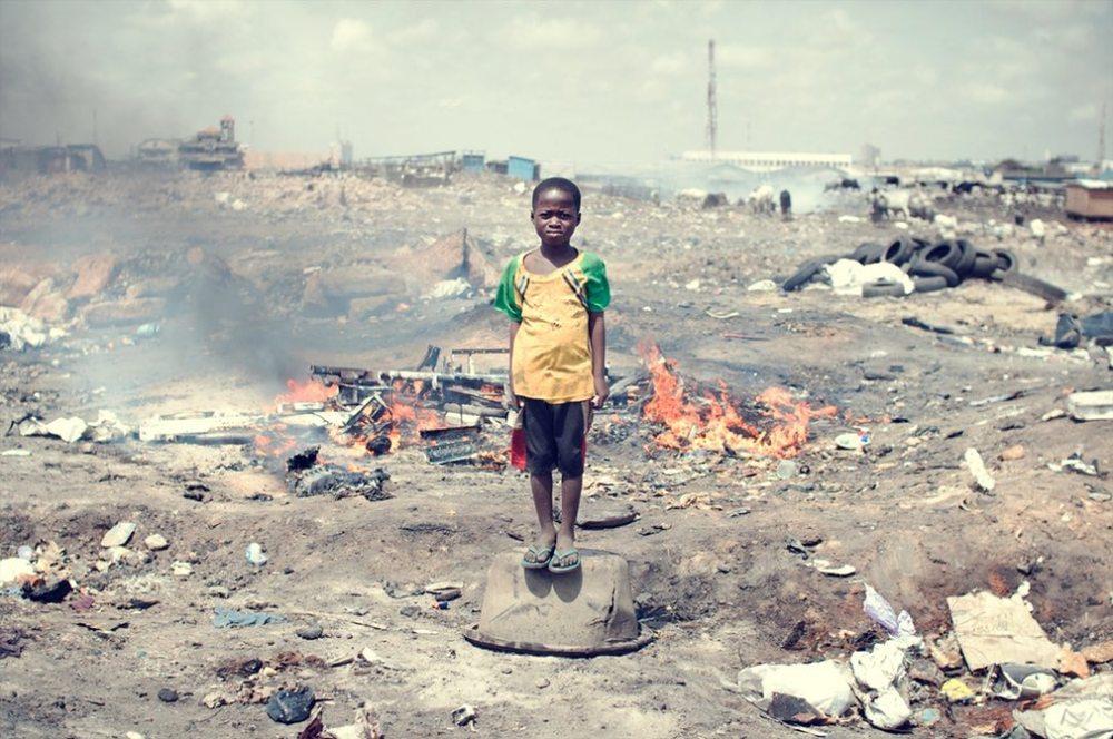 Agbogbloshie e-waste dump