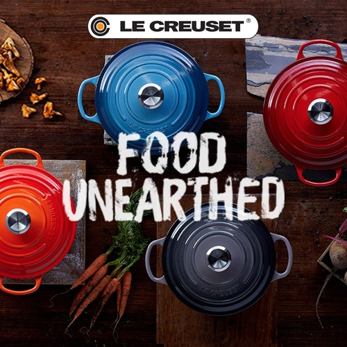 Le Cruset Food Unearthed Square Image