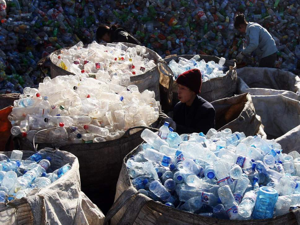 Plastic recycling China