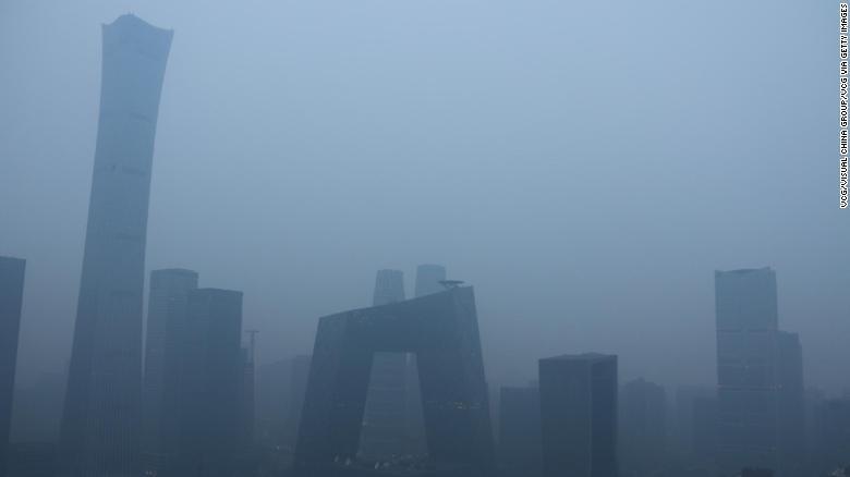 Hong Kong smog 2018