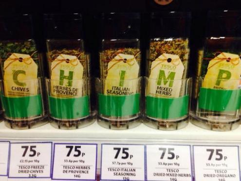 dried herbs supermarket