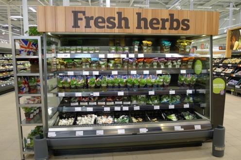 fresh herbs supermarket